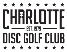 Charlotte Disc Golf Club Retina Logo